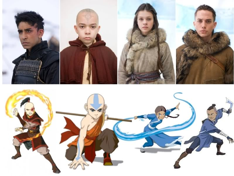 Avatar The Last Air Bender Cast